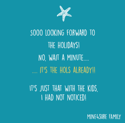 Holidays…