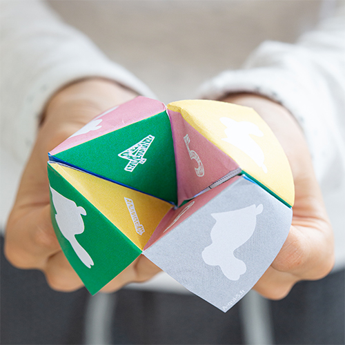 Easter DIY: Origami finger game