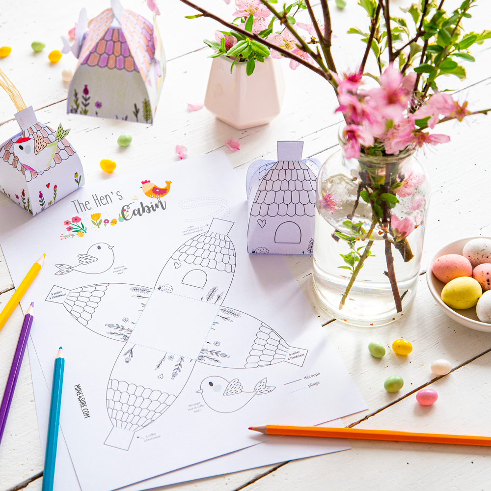 An Easter DIY! The Hen's Cabin
