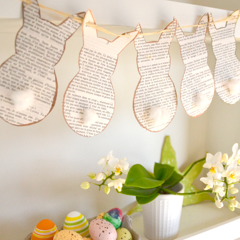 Easter decor : A DIY the Easter Bunny's going to love!